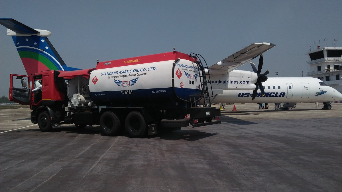 Aviation Refueling at Cox Bazar Airport